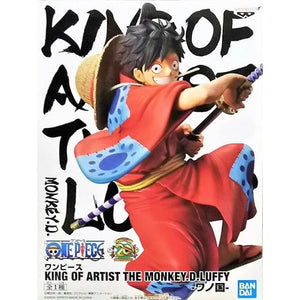 ONE PIECE KING OF ARTIST - MONKEY D. LUFFY WANO KUNI FIGURE
