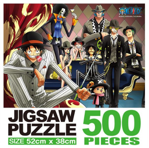 ONE PIECE 500 LUFFY FAMILY PUZZLE