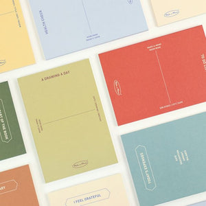 Make-A-Memo Notebooks - 8 Types