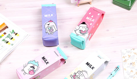 Milk Pouch Pencil Case