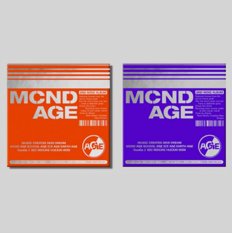 MCND 2ND MINI ALBUM 'MCND AGE'
