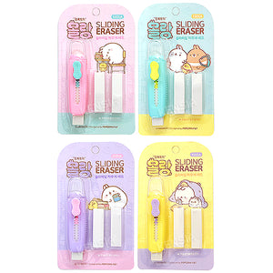 MOLANG SLIDING ERASER SET