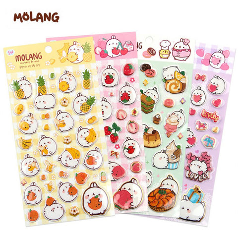 MOLANG GOLDEN STICKERS