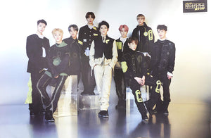 NCT 127 SUPERHUMAN GROUP POSTER