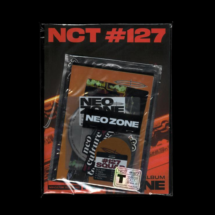 NCT 127 2ND ALBUM 'NCT #127 NEO ZONE' T VER.