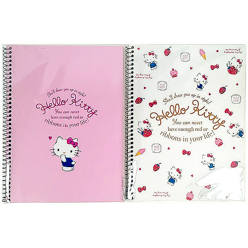 HELLO KITTY UNRULED NOTEBOOK