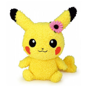 Female Pikachu Pokemon Character Soft Toys