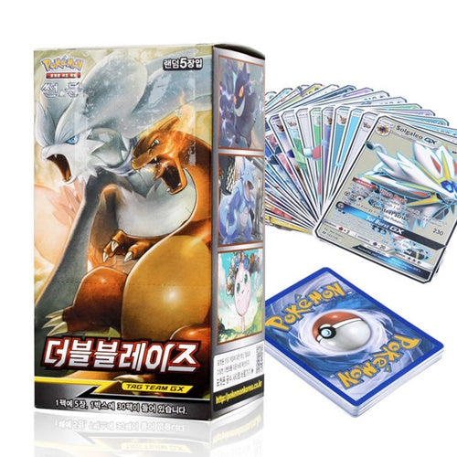 POKEMON SUN&MOON BOOSTER CARD PACK - DOUBLE BLAZE