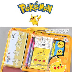 POKEMON PLENTIFUL STATIONERY SET