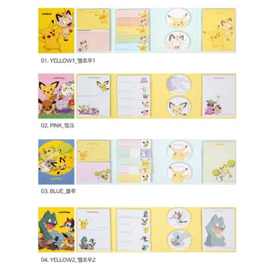 Pokemon Sticky Memo Pad Book