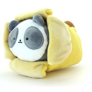 Anirollz - Pandaroll Plush w/ Banana Blanket (Small)