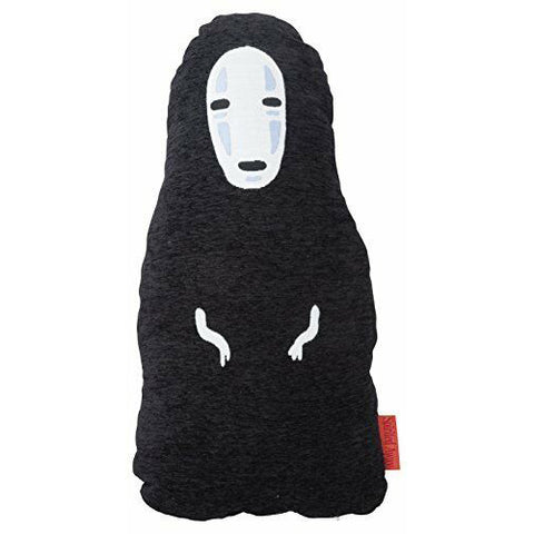 Marushin Ghibli Spirited Away Tatazumu Kaonashi No-Face Diecut Cushion Pillow