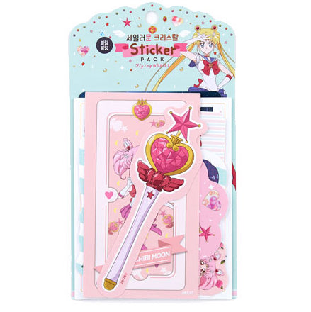 Sailor Moon Crystal Scrapbook Diary Deco Sticker 12pcs Assorted Pack : 1 Pack (Bling Bling)