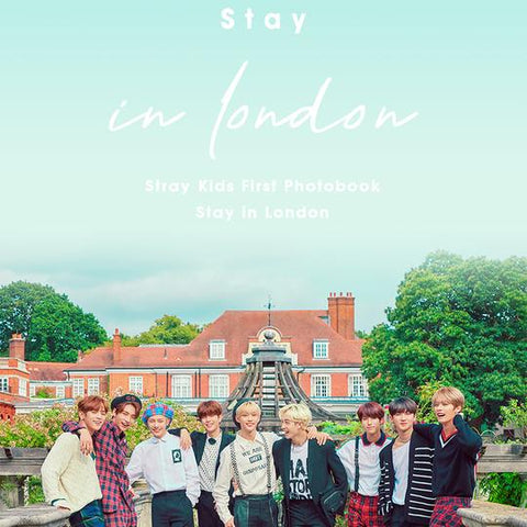 STRAY KIDS 'STAY IN LONDON' PHOTO BOOK