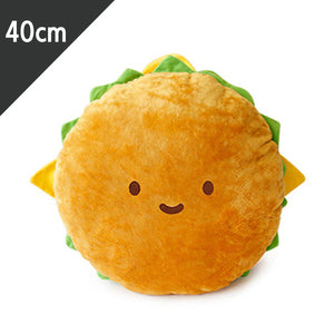 Cheese Burger Cushion Plush