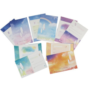 So Simple Watercolor Letter Set