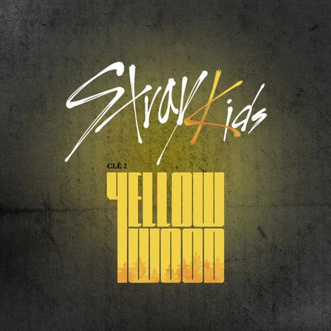 STRAY KIDS SPECIAL ALBUM 'CLE 2 : YELLOW WOOD' LIMITED EDITION