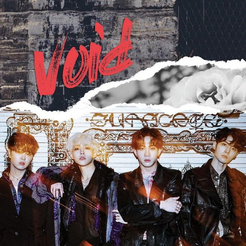 THE ROSE 1ST MINI ALBUM - VOID