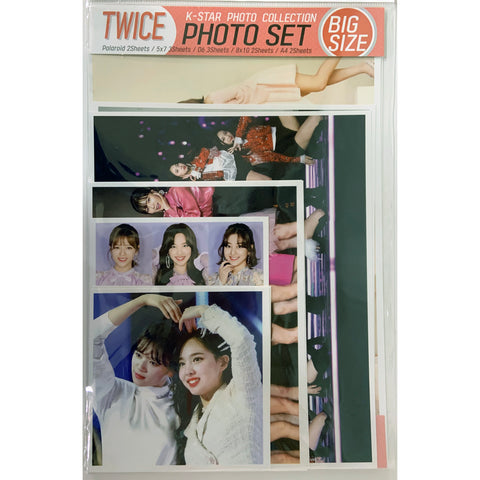 Twice Photo Set Big Size