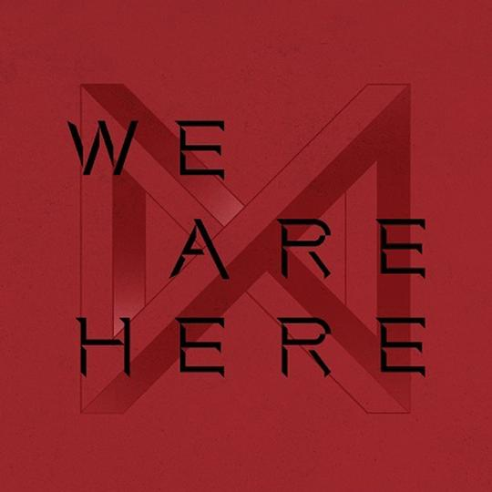 MONSTA X 2ND ALBUM TAKE.2 'WE ARE HERE' + POSTER (4 SET VERSION)