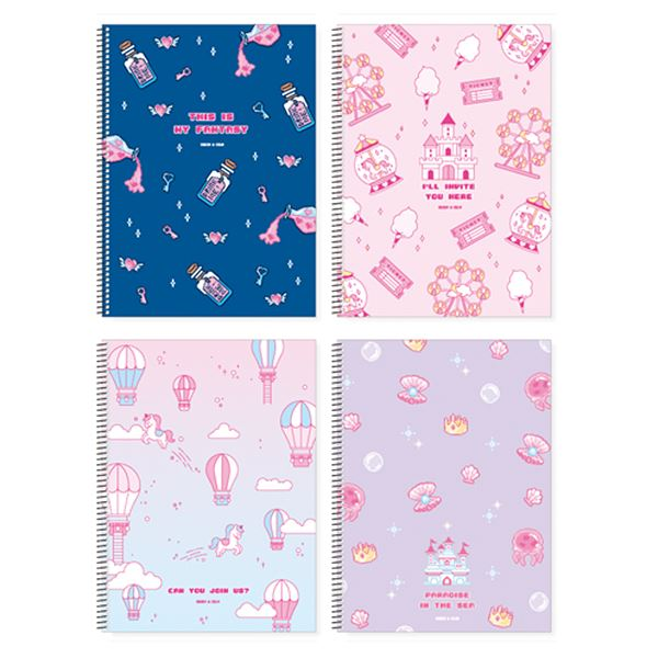 Spring Notebook - Wonderland