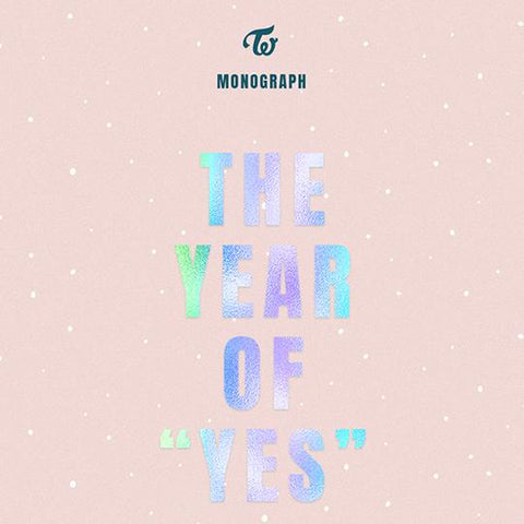 TWICE 'THE YEAR OF YES MONOGRAPH' PHOTO BOOK