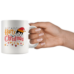 """Harry Christmas""HP White 11oz Mug"