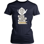 """Read Good Books""Womens Fitted T-Shirt"