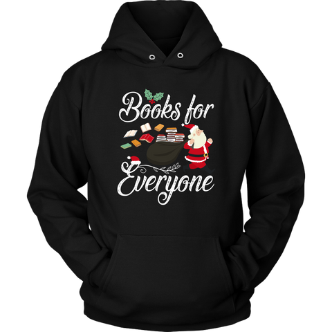 """Books For Everyone""Christmas Unisex Hoodie"