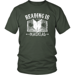 """Reading Is Magical""District Unisex Shirt"