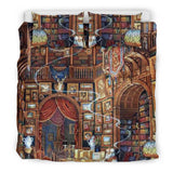 Library Bookish Bedding