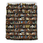bookish pattern bedding