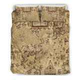 Wizarding World Map Bedding