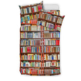 Bookshelf Bookish bedding
