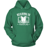 """Reading Is Magical""Cozy Unisex Hoodie"