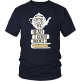 """Read Good Books""District Unisex Shirt"
