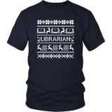 """LIBRARIAN""Christmas District Unisex Shirt"