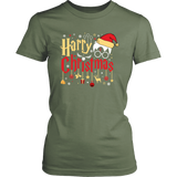 """Harry Christmas""HP District Womens Shirt"
