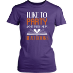 """I Like To Party""Womens Fitted T-Shirt"
