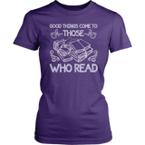 """Those Who Read""Womens Fitted T-Shirt"