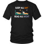 """Read All Night""District Unisex Shirt"