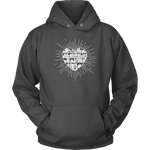 """Heart Of Books""Cozy Unisex Hoodie"