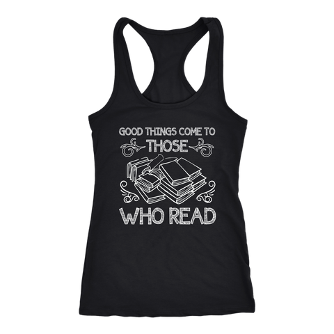 """Those Who Read"" Racerback Women's Tank Top"
