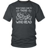 """Those Who Read""District Unisex Shirt"