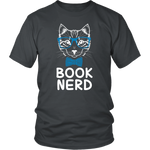"""Book Nerd""District Unisex Shirt"