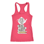 """Read Good Books"" Racerback Women's Tank Top"