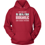 """I Am A Bookaholic""Cozy Unisex Hoodie"