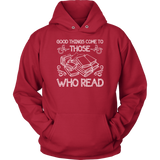 """Those Who Read""Cozy Unisex Hoodie"