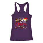 """Harry Christmas""HP Next Level Racerback Tank"
