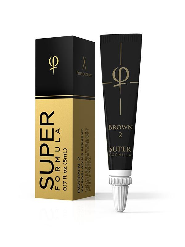 PHIBROWS BROWN 2 SUPER - 2PCS